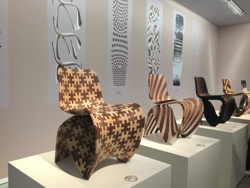3d printed kunst. Expo van Joris Laarman.  Groninger Museum.